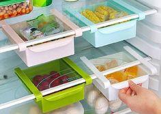 Muebles para cocinas pequeñas- refrigerador separadores