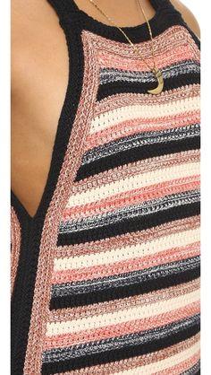 Fabulous Crochet a Little Black Crochet Dress Ideas. Georgeous Crochet a Little Black Crochet Dress Ideas. Mode Crochet, Crochet World, Diy Crochet, Crochet Top, Knitting Patterns, Crochet Patterns, Crochet Cardigan, Beautiful Crochet, Crochet Clothes