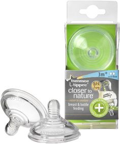 Tommee Tippee Closer to nature - Tetina anticólicos (2 unidades)