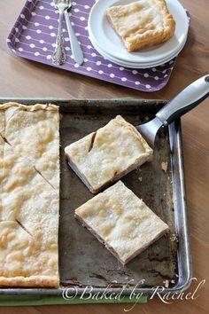 Apple Slab Pie - bakedbyrachel.com