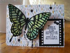 Stampin Up UK Demonstrator UK Pegcraftalot Order Stampin Up HERE: Butterflies Thinlits Watercolour