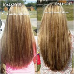 c695a919887 MONAT before & afters Best Virgin Hair, My Monat, Hair Issues, Regrow Hair