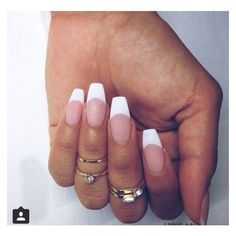 The only way I'd ever get French..Matte & coffin! | See more about French Tips, French and The Only Way.