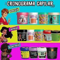 Conheça os #melhores #produtos para #cronograma #capilar e aprenda também #comofazer! #salaovirtual