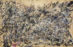 Jackson Pollock Number 1A, 1948. Photos don't do it justice. in the collection at MoMA.