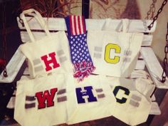 tote bag plus wappen