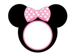 Minnie mouse invite empty