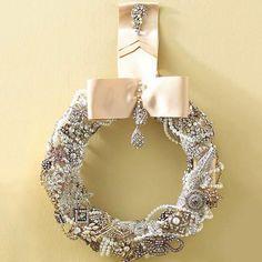 Vintage Sparkle Wreath