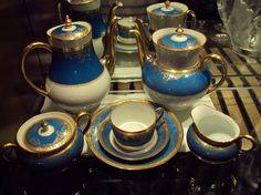 Haviland Pompadour Gold Encrusted China 40Pc Tea Set /Limoges France/New $26,387 #HAVILANDLIMOGESFRANCE