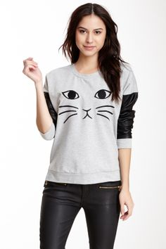 Cat Shirt - Make using paint and parchment paper?