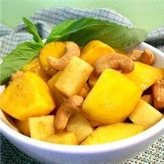 Mango Cashew Salad, Oh I tried this and it is Delicious