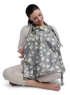 The perfect cover for nursing comfortably on-the-go