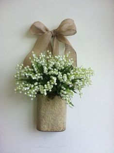 spring wreath lily of the valley wreaths