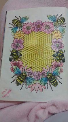 """Décima ilustração de """"O livro anti-insônica"""". The Can't Sleep Colouring Book (Creative Colouring for Grown-Ups)"""