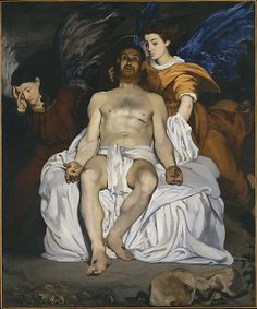 The Dead Christ with Angels by Edouard Manet, 1864, Metropolitan Museum of Art