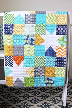 Beautiful stars quilt.