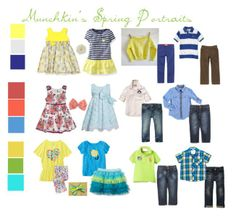 Picture Day Outfit Ideas | Munchkins Spring Session