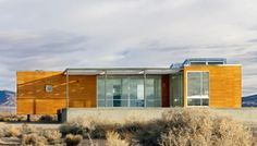 A prefab desert retreat by nottoscale