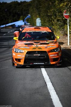 Nobushige Kumakubo Yukes / Team Orange Mitsubishi Evo X