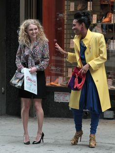 Stills from The Carrie Diaries