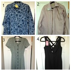 Craft Geek: Thrift Haul #thrift #refashion #sewing #crafting I can't wait to refashion some of these!