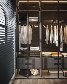 Modern Luxury Bedroom, Luxury Home Decor, Luxurious Bedrooms, Luxury Homes, Wardrobe Room, Wardrobe Design Bedroom, Closet Bedroom, Dressing Room Closet, Dressing Room Design