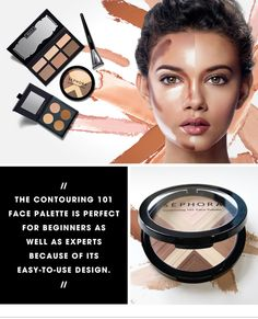 CONTOURING MAGIC: SEPHORA COLLECTION CONTOURING 101 FACE PALETTE. Whether you're new to the art of contouring or are already a master of illusions, the new SEPHORA COLLECTION Contouring 101 Face Palette is currently one of the most versatile products we carry. Read more on The #Sephora Glossy>