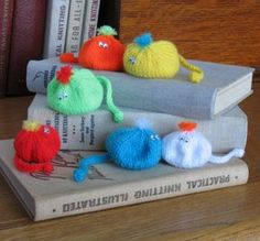Squidgy Beanbugs. These ones have been knitted, but they could be adapted to crochet.