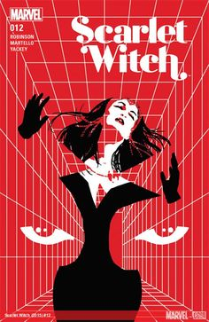 Scarlet Witch by artist David Aja / The Best Comic Book Covers of November 2016 by Paste Magazine