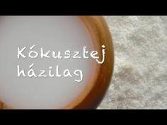 Diétabarát Kókusztej - Házilag - video recept - YouTube