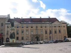 Palais Harrach - Downtown Wien.  Palace Harrach - Down town Vienna, Austria.