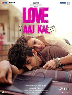 We finally have a name for Imtiaz Ali's upcoming romance drama. Titled Love Aaj Kal , Kartik Aaryan and Sara Ali Khan are the millennial couple in… Movie Info, 2 Movie, Movie Songs, Movie List, Hindi Movies, Latest Bollywood Movies, Latest Movies, Bollywood News, Bollywood Posters