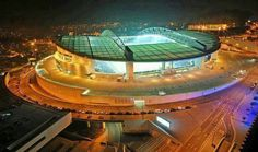 """Dragon"" Soccer Stadium (F.C. Porto) #Portugal (photo by Filipe Botelho) #Porto #Portugal"