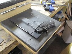 How to make a Kydex holster Picture Tutorial
