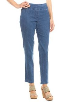 Ruby Rd  Petite Size Pull On Jean