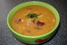 Fazolová gulášovka s uzeným masem - Recepty.cz - On-line kuchařka Soups And Stews, Cheeseburger Chowder, Food And Drink