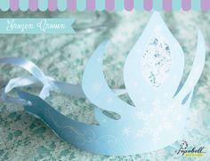 Elsa Crown for Frozen Birthday Party. Frozen Favors, Frozen Invitations, Frozen Theme, Party Kit, Diy Party, Party Ideas, Birthday Party Themes, Girl Birthday, Birthday Ideas
