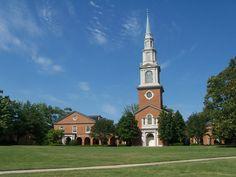 Samford University, Birmingham, Alabama: 1967-1971 Four years of services in the beautiful Reid Chapel.