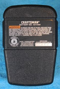 CRAFTSMAN 15.6 VOLT Battery 1311444 Good Condition Free Shipping!! #CRAFTSMAN