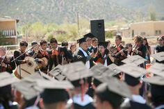 """Taos High School Class of '12    The """"centennial class"""" of Taos High School received their diplomas at commencement Saturday (May 26). Photos by Tina Larkin"""