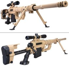 It is part of the sniper shooting system CheyTac LRRS. Produced by CheyTac LLC (USA). Uses special sniper cartridges of the Wildcat type: CheyTac and CheyTac. A distinctive feature of the system is the high accuracy of firing at long distances: Weapons Guns, Guns And Ammo, Concept Weapons, Fire Powers, Cool Guns, Military Weapons, Tactical Gear, Airsoft, Firearms