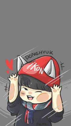 kim donghyuk Bobby, Ikon Member, Chanwoo Ikon, Jay Song, Fandom, Kpop Fanart, Yg Entertainment, Love Art, My Children