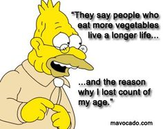 Share if it made you smile! Veggies are Healthy @ http://www.facebook.com/movacado