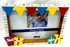 A kid is never as happy as he is the day of his birthday! Capture that moment with this darling 5x7 embellished birthday frame!