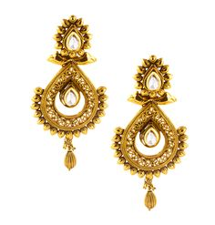 The traditional pieces are impressive and lean towards ethnic sensibilities. http://www.mirraw.com/designers/jahnvi/designs/superfine-danglers-drop