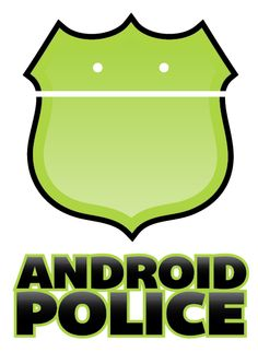 Conceptual logo for Android Police, a website about all things Android