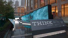 IBM's Think Exhibition #signage #structure