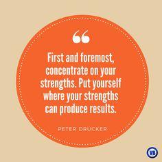 #Quote #HR #Strength Peter Drucker