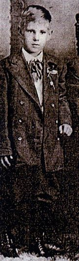 Karl Thorston Skoog (age 11) drowned in the Titanic tragedy when he and his family were returning to America after a visit to Sweden. They were returning to their home in Iron Mountain, Michigan.  Karl was lost along with his entire family. Only the body of one of the two young ladies traveling with them was found.
