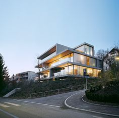 Christian Kerez - Apartment building on Forsterstrasse, Zürich 2003
